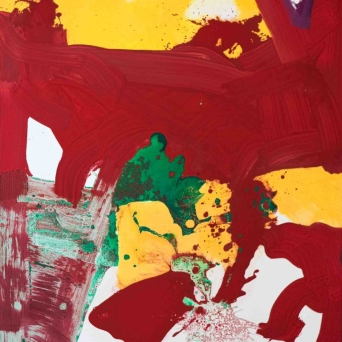 Untitled - Mixed media on canvas - 70 x 90 cm