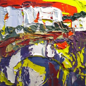 Cadaqués - Oil on canvas - 20 x 20 cm