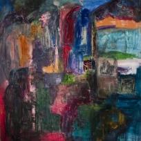 Ciudad de Buenos Aires - Oil on canvas - 180 x 180 cm